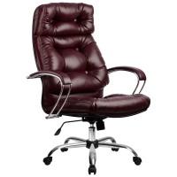 Кресло Metta LK-14 CH бордовый