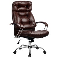 Кресло Metta LK-14 CH коричневый