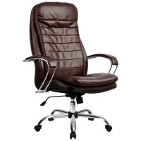 Кресло Metta LK-3 CH коричневый