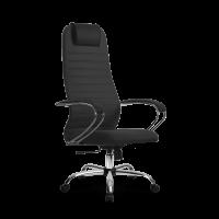 Кресло Мetta SU-BK-10 CH темно-серый / серый