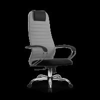 Кресло Мetta SU-BK-10 CH светло-серый