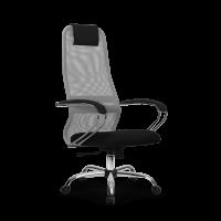 Кресло Metta SU-BK-8 CH светло серый