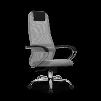 Кресло Metta SU-BK-8 CH светло серый / серый