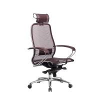Кресло Metta Samurai S-2.04 темно-бордовый