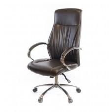 Кресло офисное Дрим АКласс СН ANF экокожа коричневое