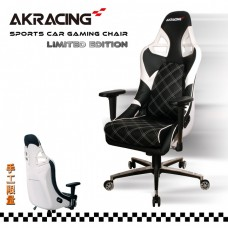 Кресло Akracing Sport Car PS911 Black&White