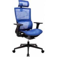 Кресло эргономичное GT RACER X-D20 BLUE