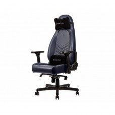 Кресло компьютерное Noblechairs ICON Real Leather Midnight Blue