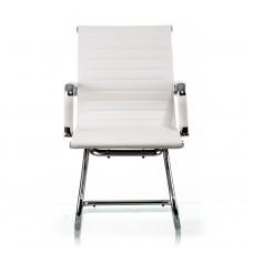 Кресло офисное Solano office artleather white / Кресло Solano artleather conference white
