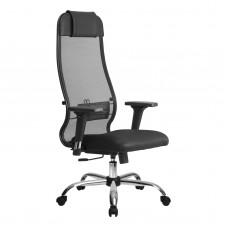 Кресло эргономичное Metta комплект 18/2D CH черный