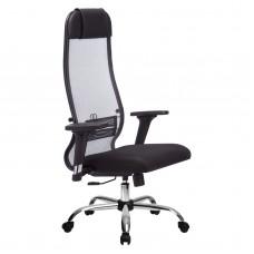 Кресло эргономичное Metta комплект 18/2D CH светло серый