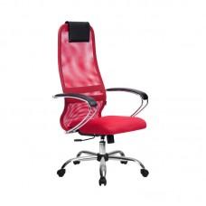 Кресло эргономичное Metta BK-8 СН красный