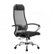 Кресло эргономичное Метта Комплект 0 СН черный