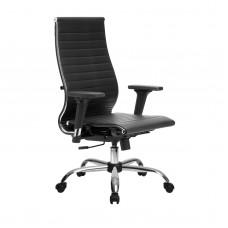 Кресло эргономичное Metta комплект 10/2D CH черный